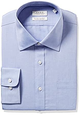Enro men 39 s tall size slim fit big solid spread for Slim fit tall shirts
