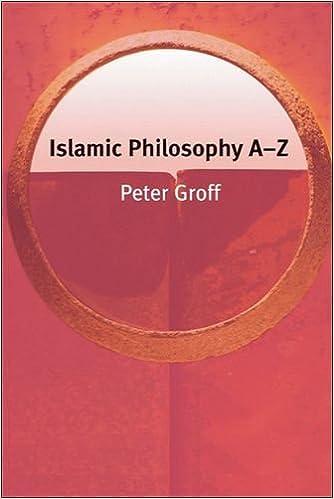Book Islamic Philosophy A-Z (Philosophy A-Z EUP) by Peter Groff (2007-05-10)