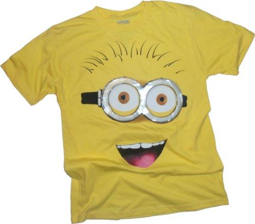 minion-big-face-despicable-me-adult-t-shirt-medium