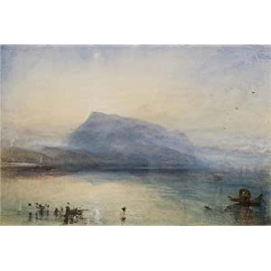 'Joseph Mallord William Turner - Sketchbooks, Drawings, Watercolours,1825' Oil Painting, 18x27 Inch / 46x68 Cm ,printed On High Quality Polyster Canvas ,this Cheap But High Quality Art Decorative Art Decorative Canvas Prints Is Perfectly Suitalbe For Gym