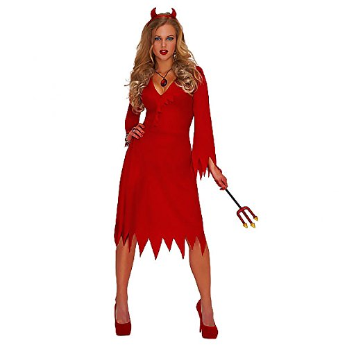 [Christy's Adults Red Hot Devil Costume] (Hot Halloween Costumes Devil)