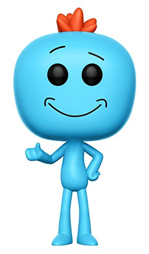 85d1f3088de5 Funko Pop! 12441 Animation  Rick and Morty - Mr. Meeseeks Vinyl Figure  (Random model)  Funko Pop! Animation   Amazon.co.uk  Toys   Games