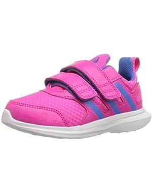 Performance Boys' Hyperfast 2.0 Cf i Sneaker, Shock Pink/Ray Blue/White, Infant