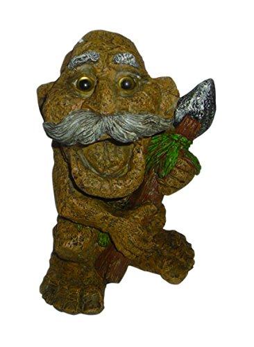Misfit Trolls 24201 Stone Troll Figurine, Medium, Brown/Grey