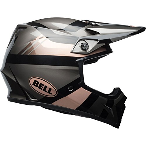 Bell MX-9 MIPS Marauder Off-Road Motorcycle Helmet (Gloss Copper/Black, Small) (Velocity Off Road Helmet)