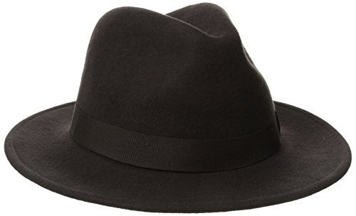 SCALA Classico Men's Crushable Felt Safari Hat (Large, Chocolate) - Scala Wool Safari Hat