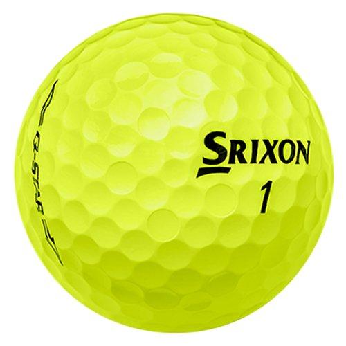 Srixon Q-Star Personalized Golf Balls - Add Your Own Text (12 Dozen) - Yellow by Srixon Custom (Image #1)