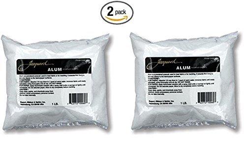 Jacquard Products Bulk Buy (2-Pack) Alum 1lb CHM1006 (Alum Shell)