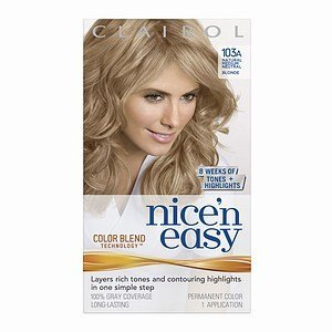 clairol nice n easy with color blend technology permanent color natural medium neutral blonde - Clairol Nice And Easy Colors