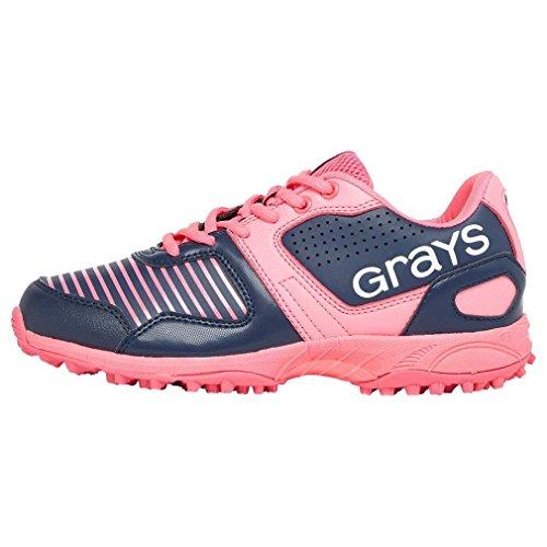 GRAYS GX550Junior Hockey Schuh–navy/pink