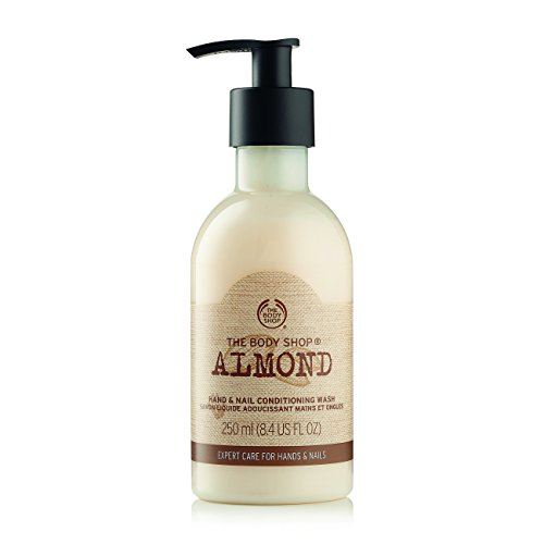 The Body Shop Conditioning Hand Wash, New Almond, 8.4 Fluid