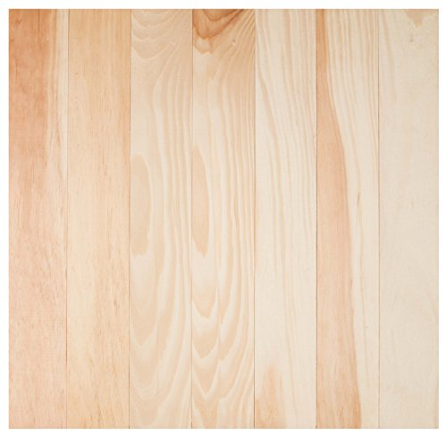 (Natural Wood Finish 24.5 x 24 Inch Pine Wood Craft Pallet)