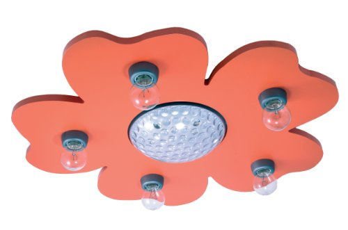 Niermann Standby Ceiling Lamp, Orange by Niermann Standby