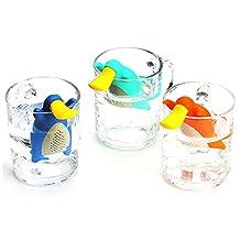 C-Pioneer Cute Platypus Tea Strainer Tea Infuser Gift Set for Loose Leaf Tea
