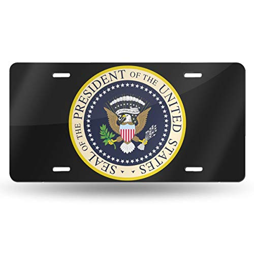 NLXZD Seal of The President of The United States Novelty License Plate American Vehicle License Plate