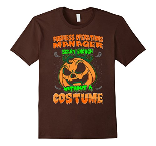 Operation Halloween Costume (Mens Business Operations Manager Scary Costume Halloween Tshirt 2XL)
