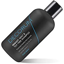 Decorum Reboot Mint & Tea Tree Shampoo, 8.5 Ounce