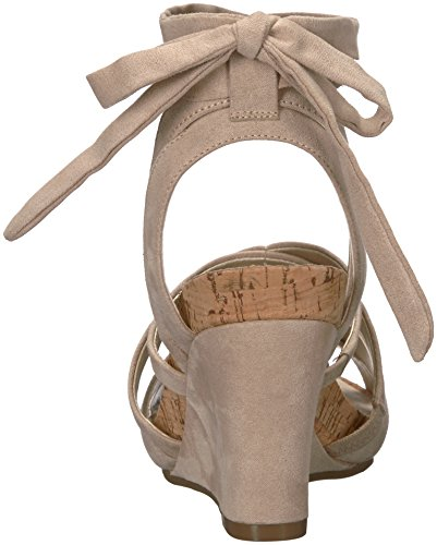 Sandal Wedge Lilac Aerosoles Women's Bone Plush Fabric vqTzwBwCcx