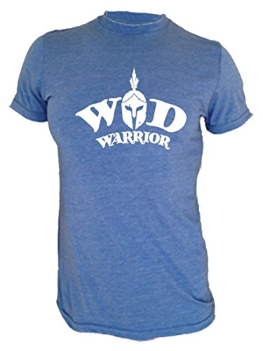 WOD Triblend T-shirt, WOD the F#%k! (Warrior Blue, Medium)