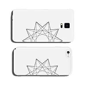 Geometric element, star shape, line design, vector cell phone cover case iPhone6 Plus