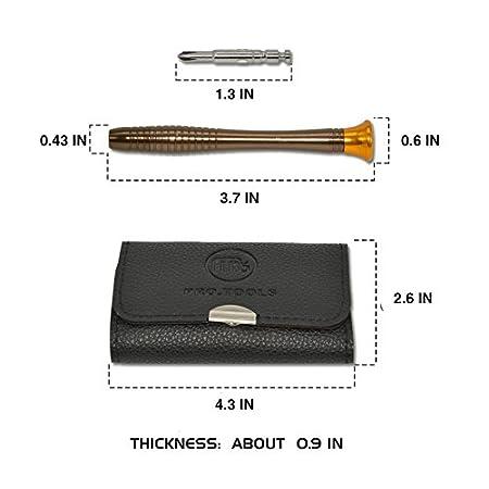 Flat Screwdriver Tool Set for Mobile Phone,MacBook,PC Laptop,Tablet,iPad,Watch,Car Keys and Electric YAOGONG 25 in 1 Repairing Opening Precision Screwdrivers Set
