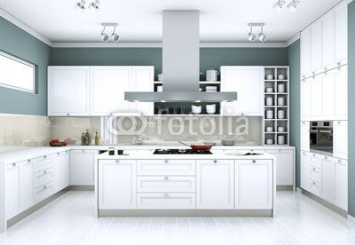 Modern Kitchen Interior Design 75586682 Aluminium Dibond 60 X 40