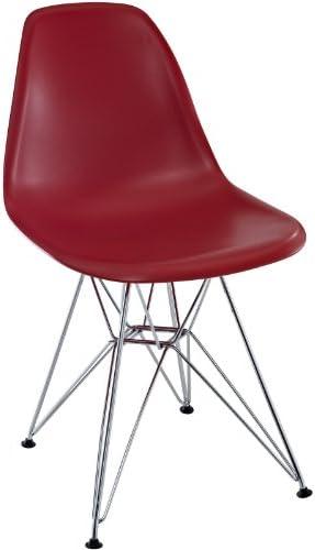 Modway Paris Mid-Century Modern Molded Plastic Dining Chair