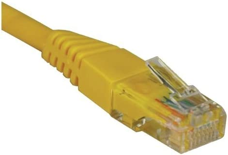 Tripp Lite N002-001-YW Cat//5e UTP Patch Cable DA5455
