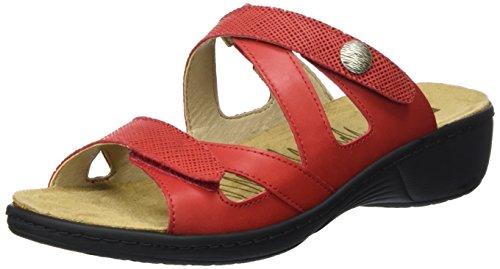 rojo 14 Mujer Romika Mainau rojo Mules nfWTwHxRq