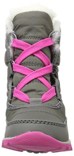 Sorel Youth Whitney Short Lace Boot Quarry/Pink Ice (4.5 Big Kid) by SOREL (Image #4)