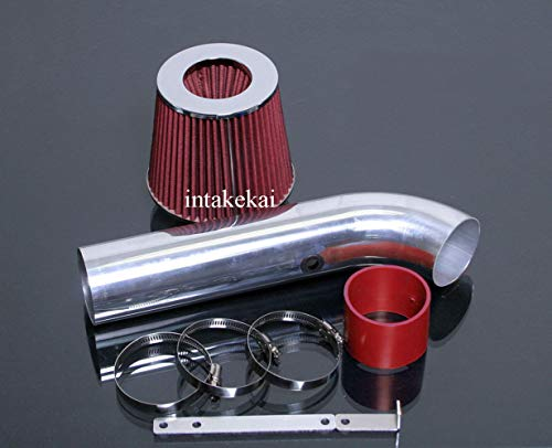 - PERFORMANCE AIR INTAKE KIT + FILTER FOR 1998-2002 CHEVY CHEVROLET CAVALIER PONTIAC SUNFIRE 2.2 2.2L OHV ENGINE (RED)