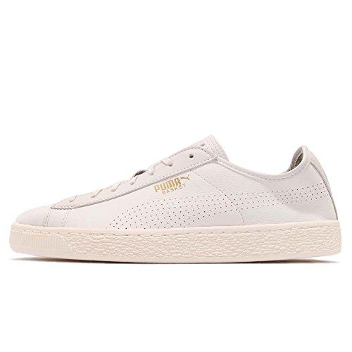Puma White Soft Unisex Classic Basket Erwachsene Sneaker Weiß rTrBqZx