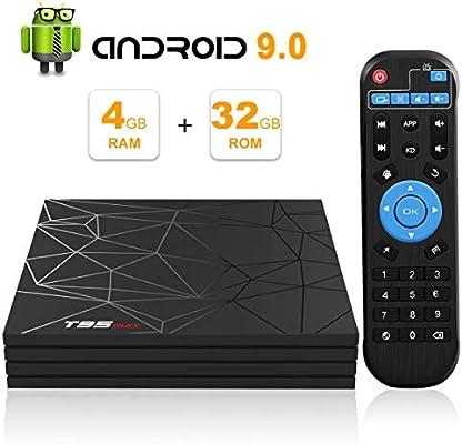 T95 MAX TV BOX, Android 9.0 Smart BOX 4GB RAM 32GB ROM Allwinner H6 CPU de