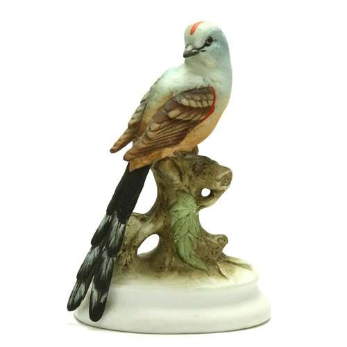 Lefton Figurine by, Resin, Flycatcher