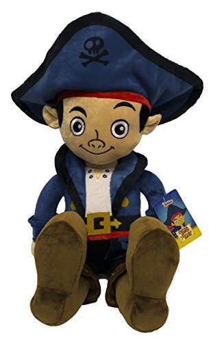 Disney Jake the Never Land Pirates Captain Pillow Pal Buddy Pillowtime Doll, -