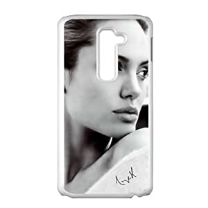 Angelina Jolie Cell Phone Case for LG G2