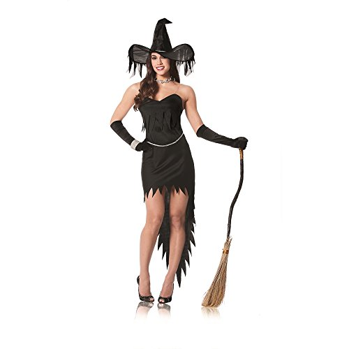 Costume Culture By Franco Llc Women's Witch Rhinestone Costume Multicoloured Medium ()