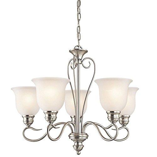 Kichler 42906NI Five Light Chandelier (Breakfast Room Light)