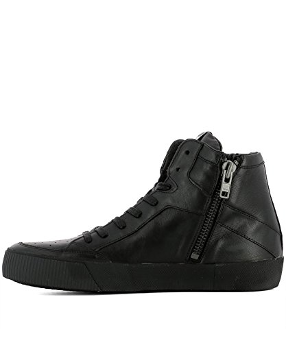 Philippe Model Hi Top Sneakers Uomo KNHUVL21 Pelle Nero