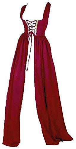 Renaissance Irish Over Dress (2XL/3XL, Cranberry)]()