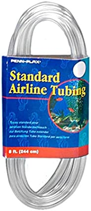 Penn-Plax Standard Airline Tubing Air Pump Accessories, 8-Feet(packaging may vary)