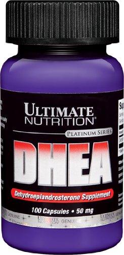 Ultimate Nutrition DHEA déhydroépiandrostérone-capsules, 50 mg, 100 bouteilles-Count (pack de 2)
