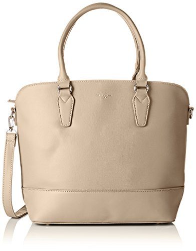 David Jones 5608a-2, Borse a mano Donna Marrone (Camel)