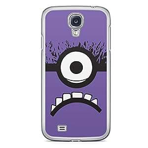 Minion Samsung Galaxy S4 Transparent Edge Case - H
