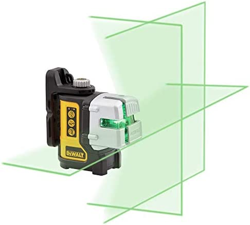 DEWALT Laser Level, Multi-Line, Green, 30-Foot Range DW089CG