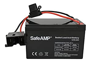 amazon com replacement battery for fisher price power wheels 12 rh amazon com power wheels 12 volt battery harness Power Wheels Battery 6 Volt