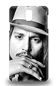Galaxy 3D PC Case Tpu 3D PC Case Protective For Galaxy Note 3 Johnny Depp American Male John Christopher Depp Charlie And The Chocolate Factory ( Custom Picture iPhone 6, iPhone 6 PLUS, iPhone 5, iPhone 5S, iPhone 5C, iPhone 4, iPhone 4S,Galaxy S6,Galaxy S5,Galaxy S4,Galaxy S3,Note 3,iPad Mini-Mini 2,iPad Air )