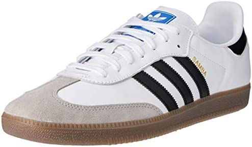 adidas Samba OG shoes white blue