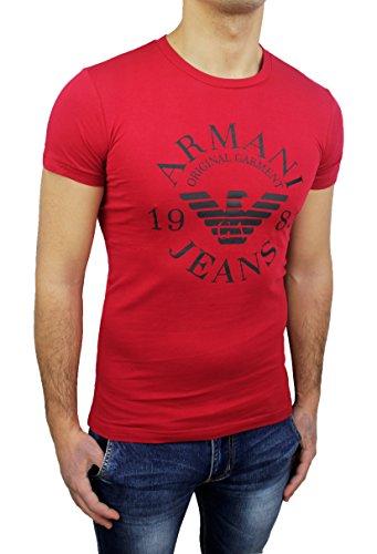 Armani Herren T-Shirt rot rot L