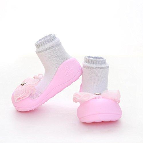 Attipas , Chaussures premiers pas pour bébé (fille) rose rose 19